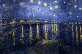 Starry Night Over The Rhone - Vincent Van Gogh 1888