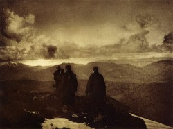 James Craig Annan, The Dark Mountains, 1890