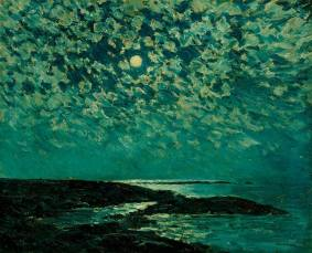 Frederick Childe Hassam, 'Moonlight, Isle of Shoals_, 1892,